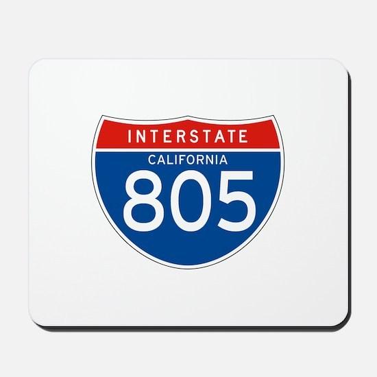 Interstate 805 - CA Mousepad