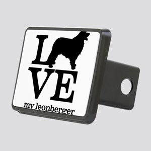 Love my Leonberger Rectangular Hitch Cover
