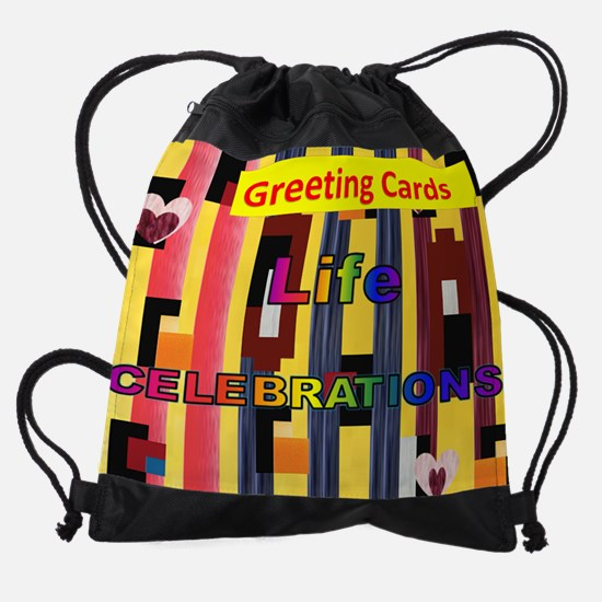Greeting Cards All Occasions Page O Drawstring Bag