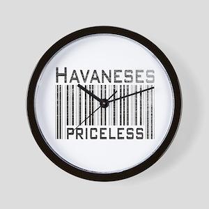 Havaneses Wall Clock