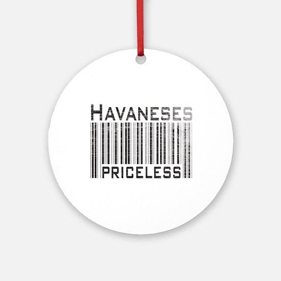 Havaneses Ornament (Round)
