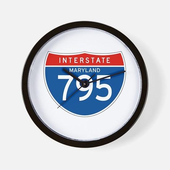 Interstate 795 - MD Wall Clock