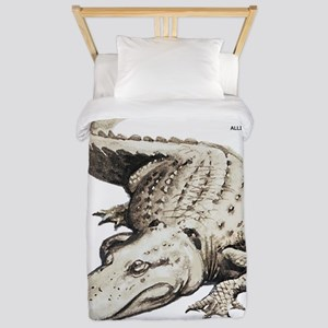 Alligator Gator Animal Twin Duvet