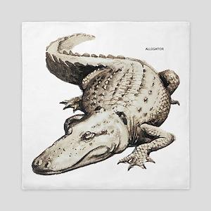 Alligator Gator Animal Queen Duvet