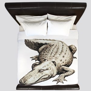 Alligator Gator Animal King Duvet