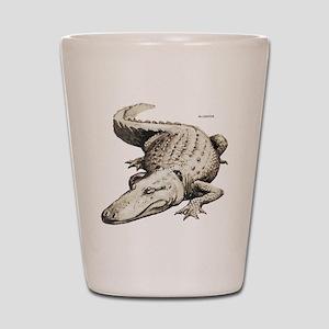 Alligator Gator Animal Shot Glass