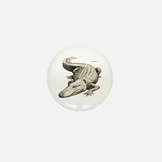 Alligator Gator Animal Mini Button