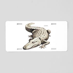 Alligator Gator Animal Aluminum License Plate