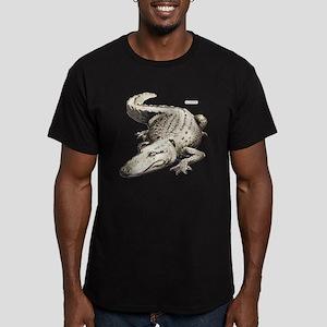 Alligator Gator Animal Men's Fitted T-Shirt (dark)