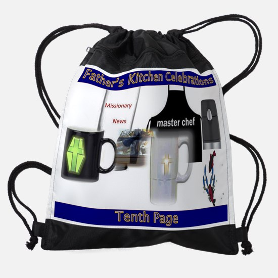 Artist Poetic Fathers Gifts Drawstring Bag