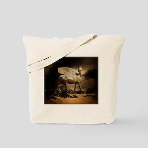 Winged Bull Tote Bag