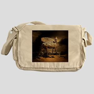 Winged Bull Messenger Bag