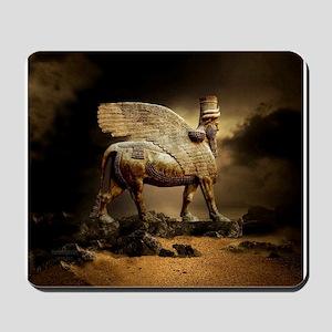 Winged Bull Mousepad