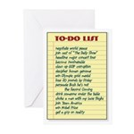 Ambitious To-Do List Greeting Cards (Pk of 10)