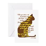 Naming of Cats Greeting Cards (Pk of 10)