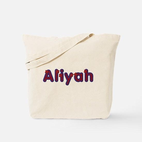 Aliyah Red Caps Tote Bag