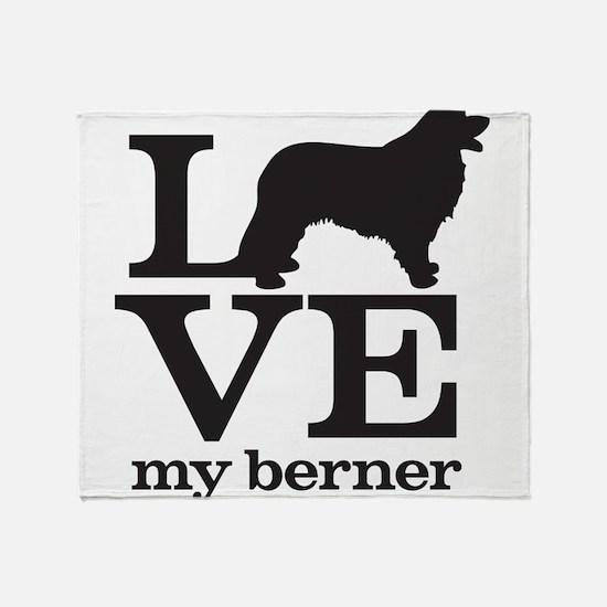 Love my Berner Throw Blanket