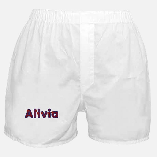 Alivia Red Caps Boxer Shorts