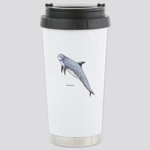 Rissos Dolphin Stainless Steel Travel Mug