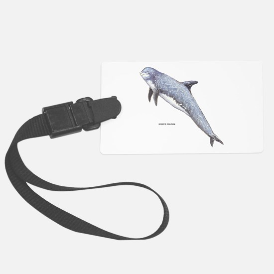 Rissos Dolphin Luggage Tag
