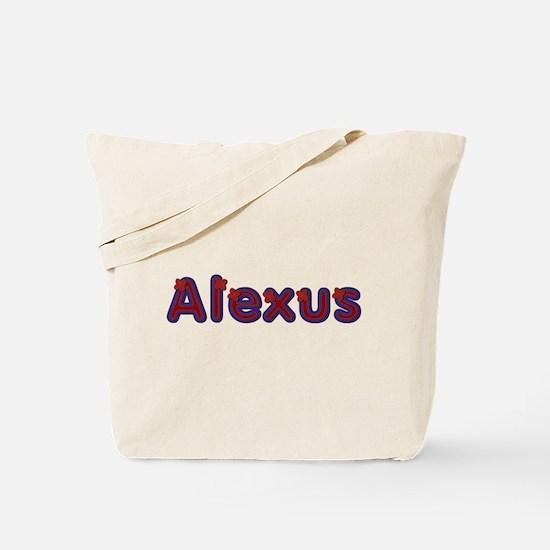 Alexus Red Caps Tote Bag
