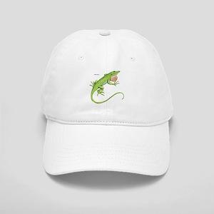 Green Anole Lizard Cap