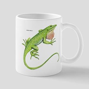 Green Anole Lizard Mug