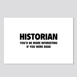 Historian Postcards (Package of 8)