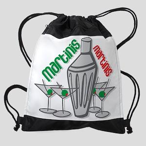 Martinis Drawstring Bag