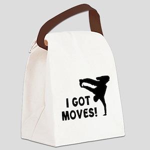 I GOT MOVES! Canvas Lunch Bag
