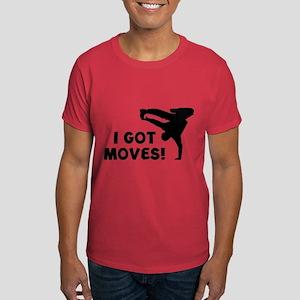 I GOT MOVES! Dark T-Shirt