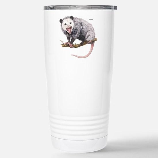 Opossum Possum Animal Stainless Steel Travel Mug