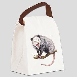 Opossum Possum Animal Canvas Lunch Bag