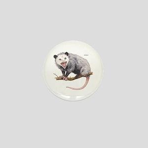 Opossum Possum Animal Mini Button