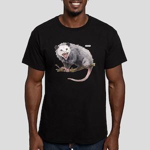 Opossum Possum Animal Men's Fitted T-Shirt (dark)