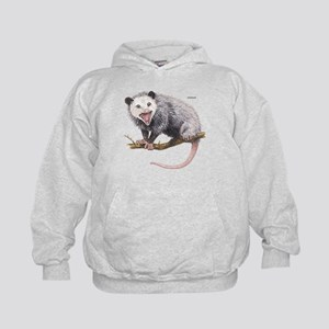 Opossum Possum Animal Kids Hoodie