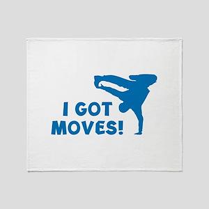 I GOT MOVES! Stadium Blanket