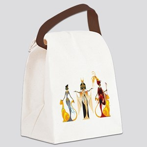 The Divas of Egypt Canvas Lunch Bag