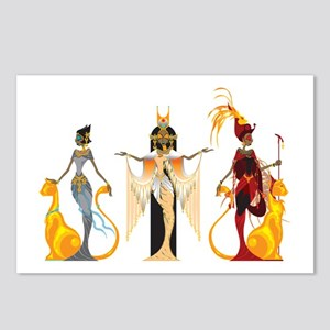 The Divas of Egypt Postcards (Package of 8)