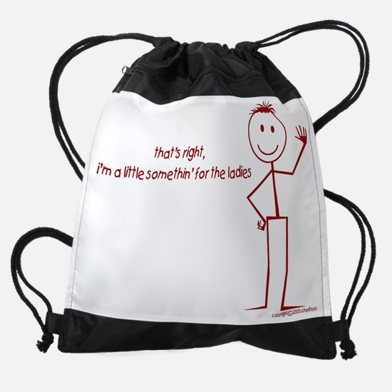 4 the ladies.jpg Drawstring Bag