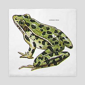 Leopard Frog Queen Duvet