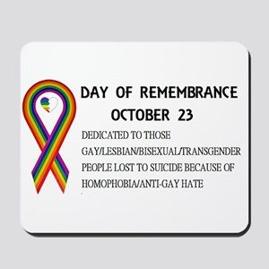 Day of Remembrance Mousepad