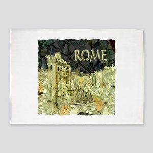 ANCIENT ROME 5'x7'Area Rug