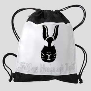 SilflayHrakaInle-dark Drawstring Bag