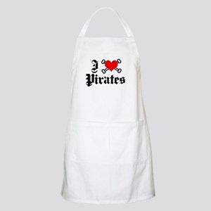 I love pirates BBQ Apron