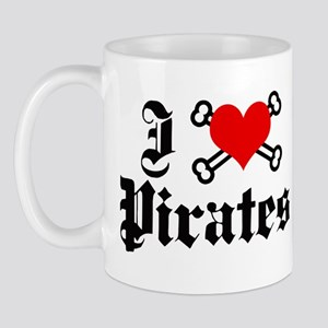 I love pirates Mug