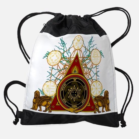 WEALTHc.png Drawstring Bag