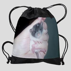sleepy baby calendar Drawstring Bag