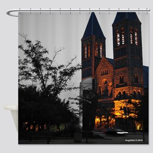 Cathedral Akron Shower Curtain