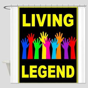 LIVING LEGEND Shower Curtain